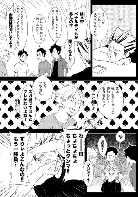 【HQ!!】心ゆくまで梟谷漫画(前編)