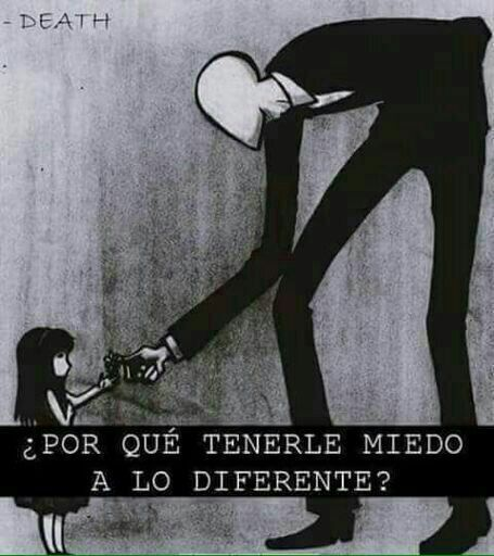 Translated: Why are we afraid of the ones who are different?