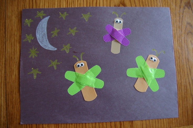 The Very Lonely Firefly Craft  http://iheartcraftythings.blogspot.com/2011/07/story-time-tuesday-very-lonely-firefly.html