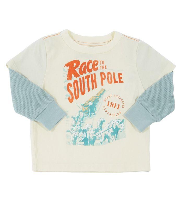 Baby South Pole Tee - Shirts & Tees - Shop - baby boys | Peek Kids Clothing