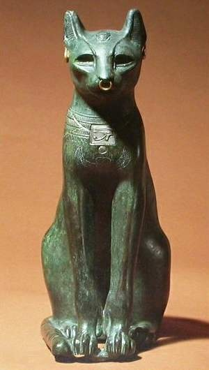 "Bastet - Bast was a local deity whose cult was centred in the city of Bubastis, now Tell Basta, which lay in the Delta near what is known as Zagazig today. The town, known in Egyptian as pr-bȝstt (also transliterated as Per-Bast), carries her name, literally meaning ""House of Bast"". It was known in Greek as Boubastis (Βούβαστις) and translated into Hebrew as Pî-beset. In the biblical Book of Ezekiel 30:17, the town appears in the Hebrew form Pibeseth"