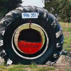 Definitely a Tyred Letterbox