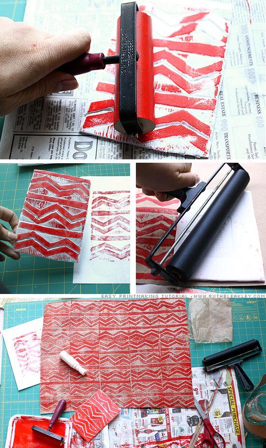 DIY: Relief Printing