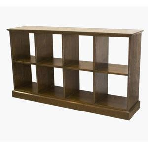 Walnut Boxes Bookshelf Horizontal