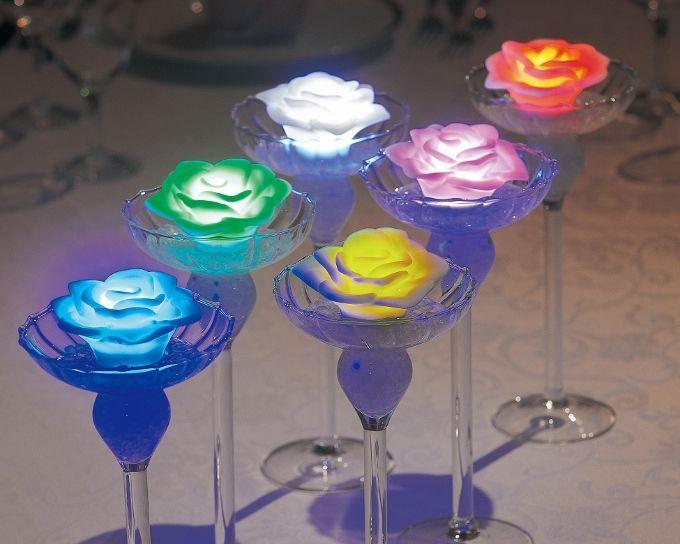 <お好きな色が指定できます!ファンタスティックLEDキャンドル合計12 個セット>披露宴演出アイテム 結婚式グッズ専門店シェリーマリエ