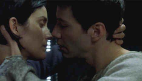 """Keanu Reeves & Carrie Ann Moss para la Saga """"The Matrix"""""""
