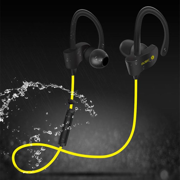 Original 56S Sports Wireless Bluetooth Earphone Stereo Earbuds Headset Bass Earphones with Mic In-Ear for iPhone 6 Samsung Phone