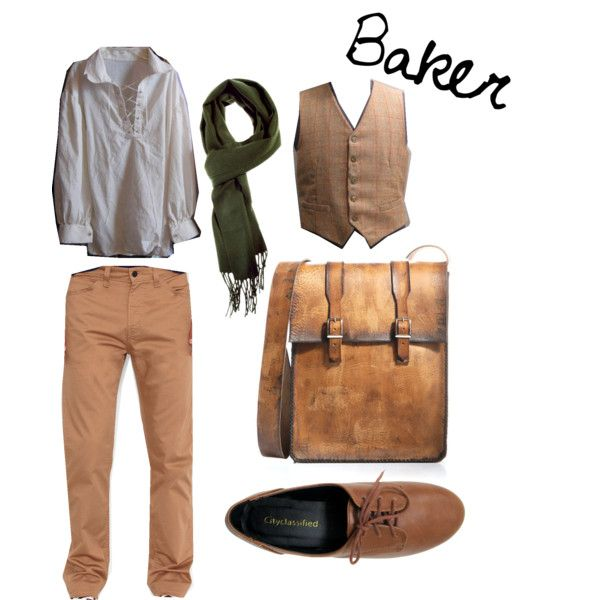 """Into the Woods - Baker"" by masterofsporks on Polyvore"