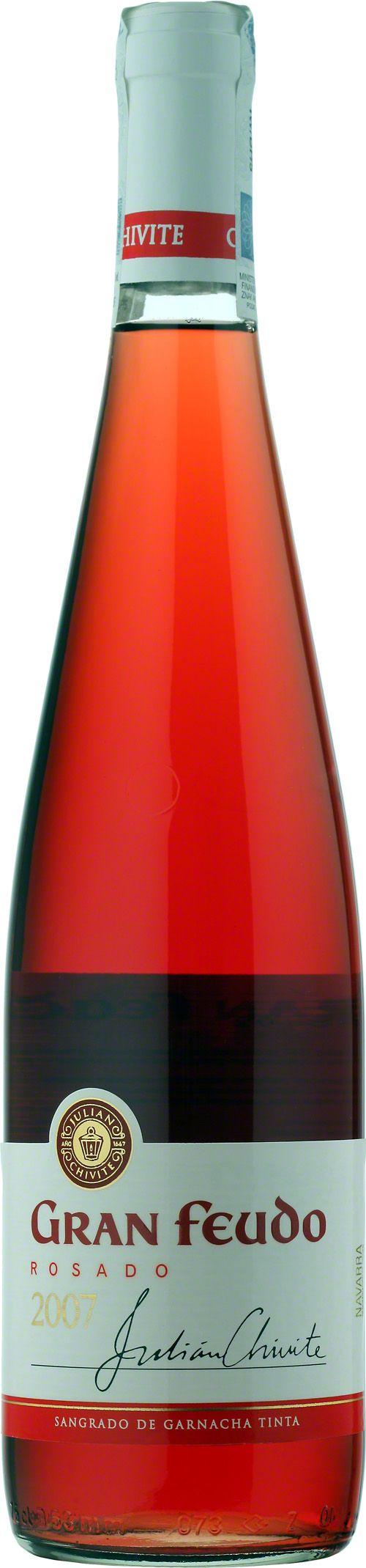 Chivite Gran Feudo Rosado Navarra D.O. Rose z regionu Navarra, oparte na szczepie Garnacha. Truskawkowo-poziomkowy nos, z rześką kwasowością. Mocna struktura nie oprze się mocniejszym potrawom mięsnym. #Chivite #GranFeudo #Rosado #Navarra #Hiszpania #Wino #Winezja #Granacha