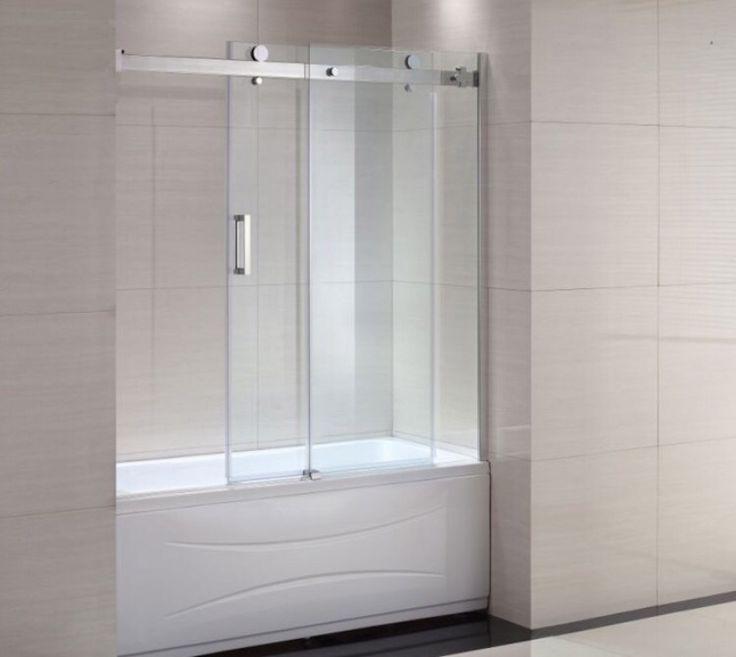 Porte vitre bain-douche