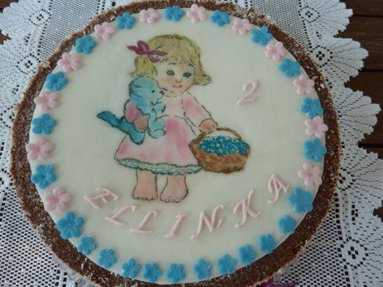 Malovaný dort
