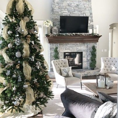 christmas decor at home, family room @liketoknow.it #liketkit http://liketk.it/2tDjo #LTKholidaystyle #LTKholidaywishlist #LTKholidayathome #LTKhome #LTKsalealert or Shop your screenshot of this pic with the LIKEtoKNOW.it app