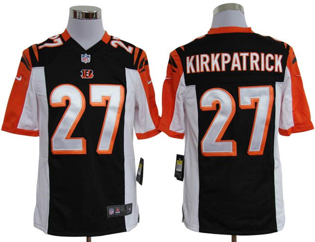Nike NFL Jerseys Cincinnati Bengals Dre Kirkpatrick #27 Black  Reliable online store for cheap NIKE NFL Cincinnati Bengals  Jerseys, 2012 New collection, top quality with most favorable price. please click: http://digjersey.com/nike-nfl-jerseys-cincinnati-bengals-c-129_133.html