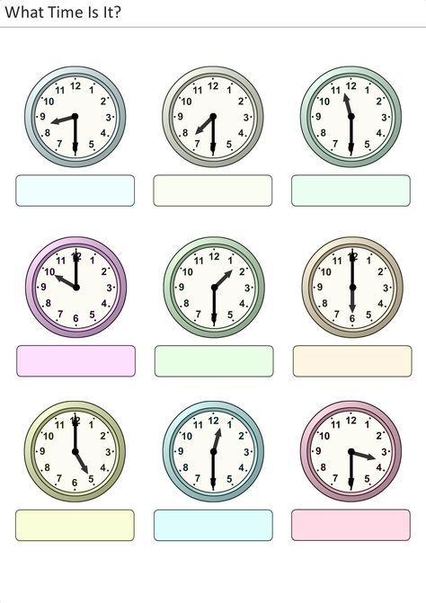 134 besten Uhr Bilder auf Pinterest | Uhrzeiten, Grundschulen und Mathe