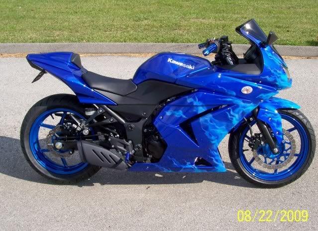 custom ninga  | Custom 2009 Ninja 250R... - Sportbikes.net