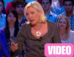Annoyed, Marine Le Pen does not care about hearing the Grand Journal (VIDEO)