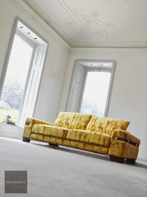 Luxury and high-end upholstery Couch for home Subdued yellow #tecninova  trend-color-for-interior-2014-subdued-yellow-William-Turner-The-Morning-after-the-Deluge-luxury-colour-furnishing-upholstery-color-tendencia-interiores-amarillo-tenue-combinar-ideas-decoración-propuesta-alta-decoración-tecninova-tapiceria-de-lujo