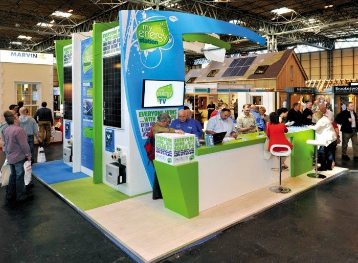 MY ENERGY STATION - EVENT EXHIBITION STAND
