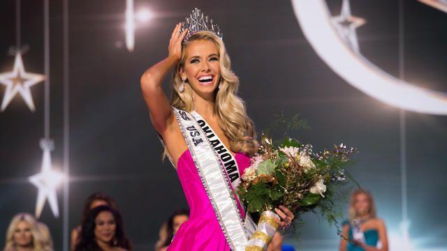 La nouvelle reine de beauté est originaire de l'Oklahoma. [DR / MISS USA]