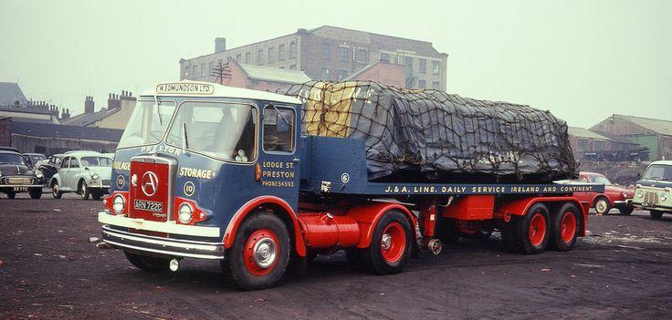 Walter Edmundson Atkinson Mk I Silver Knight 4x2 tractor unit Reg No ARN 722C