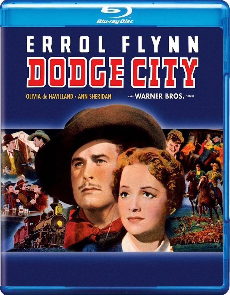 DODGE CITY BLURAY (THE GOLDEN YEAR 1939) Dodge city