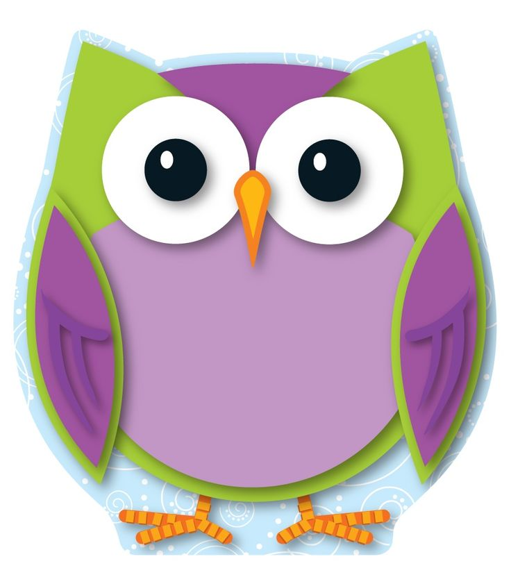 Cute Owl Classroom Decorations ~ Colorful owl mini cut outs calendar activities game