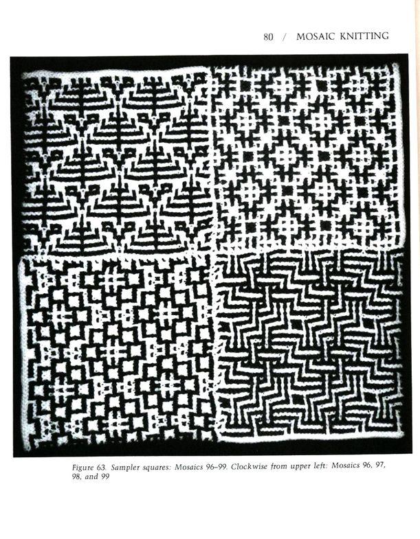 Mosaic Knitting Barbara G. Walker (Lenivii gakkard) Mosaic Knitting Barbara G. Walker (Lenivii gakkard) #85