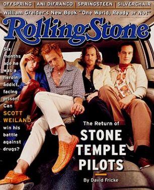Rolling Stone Magazine - Stone Temple Pilots