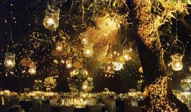 How beautiful is this!!!!! I would LOVE to have this at my wedding....too bad it isn't out doors