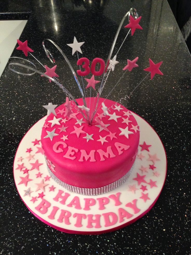 18 Best Images About 30th Birthday Cakes On Pinterest