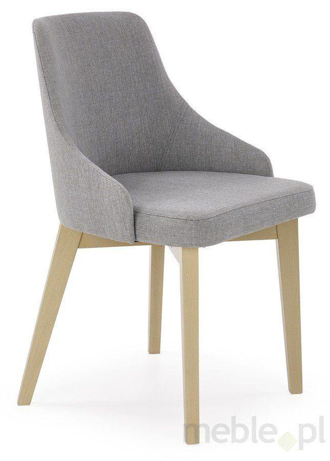 Krzesło drewniane Toledo dąb sonoma, Halmar - Meble