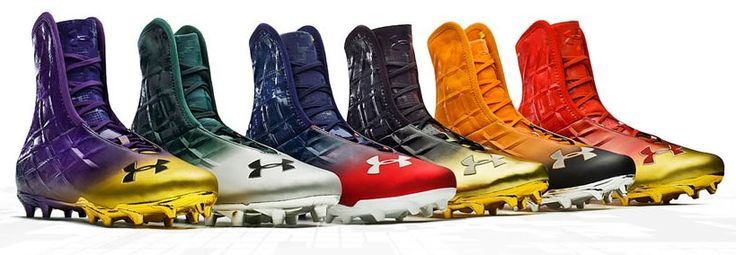 Under Armour Highlight MC Cleat Review  When it comes to protection on the field, the Highlight MC football cleats for men provide all of the protection that you require for the reasonable price of $109.99. Many people would balk at the idea of paying such a price for a pair of cleats, but these Under Armour cleats are designed to keep you safe and maximize your game...read more...