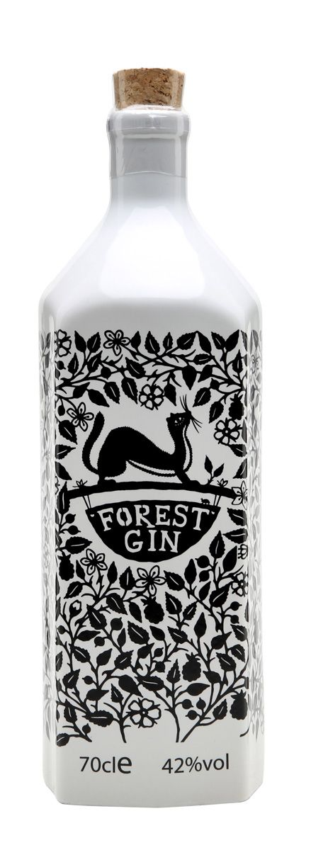 I like this intricate design. I think this would work well if you had a forrest / harvest style theme?  Forest Gin