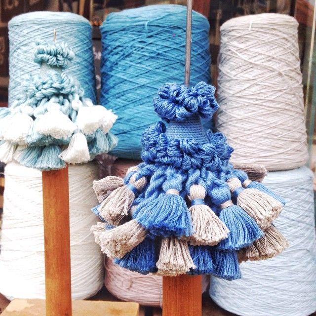 Morrison Polkinghorne  #textiles #decoration #boyac #colour #tassels