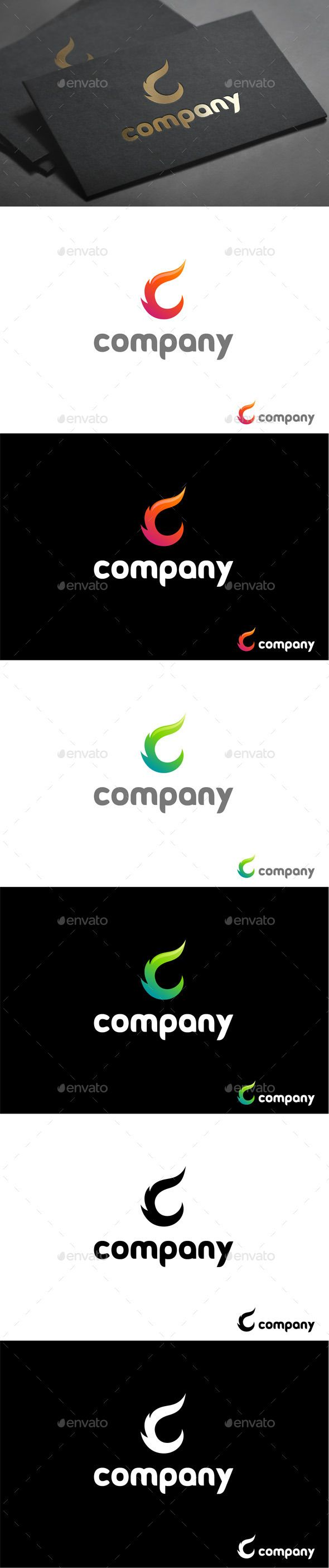 Flame of Letter C (Vector EPS, AI Illustrator, Resizable, CS, ablaze, beauty, burning, cinder, clean, coal, design, elegant, ember, fate, fire, flame, flare, hair, heat, hot, icon, letter, lettering, logo, mark, meteor, modern, sign, simple, style, stylish, symbol, type)