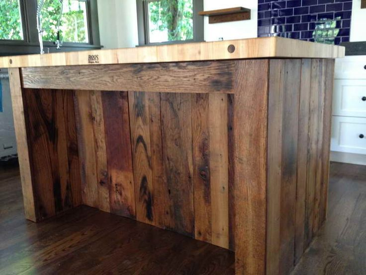 Oak Kitchen Carts And Islands 30 best ideas for reclaimed wood kitchen island images on pinterest reclaimed wood kitchen island front httpmodtopiastudioideas workwithnaturefo