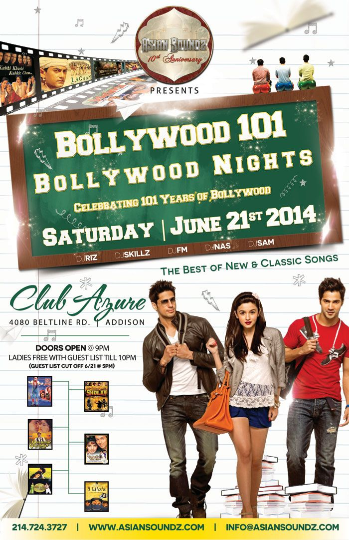 Celebrating 101 years of bollywood the best of new and for Classic dance tracks