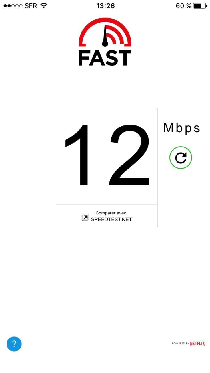 FAST Speed Test : lapp de Netflix pour tester votre connexion internet