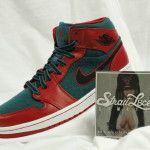 Air Jordan 1 Mid Gym Red/Black-Dark Sea (Size: 10)