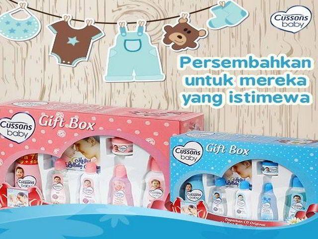 survey berhadiah baby gift set dari cussons baby