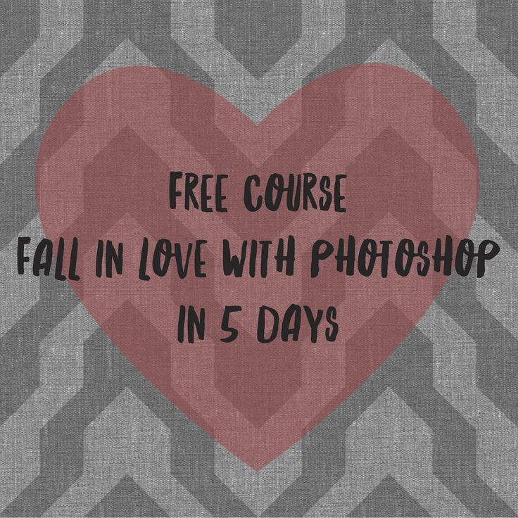 Never used Adobe Photoshop before? It's time to get your feet wet and dive in. This free course will help you confidently navigate through Photoshop and know how to use Photoshop to turn your paintings, sketches and doodles into digital artwork. http://patternobserver.com/photoshop-love