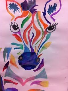 Analogous zebras - grade 5/6