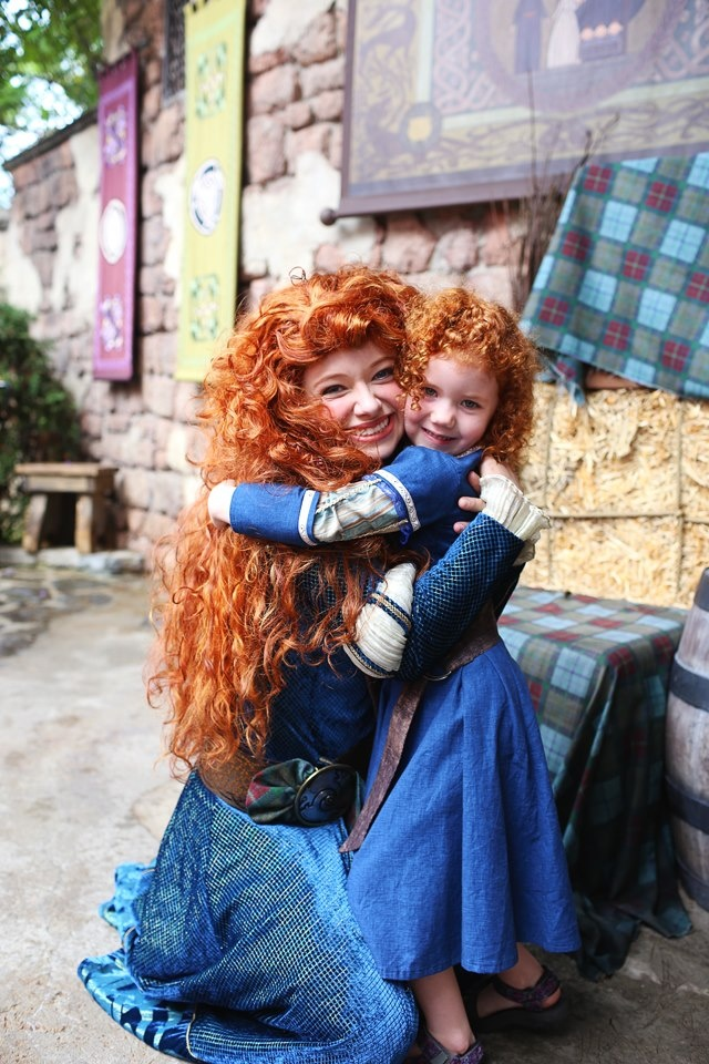 Merida & a little Merida ❤️