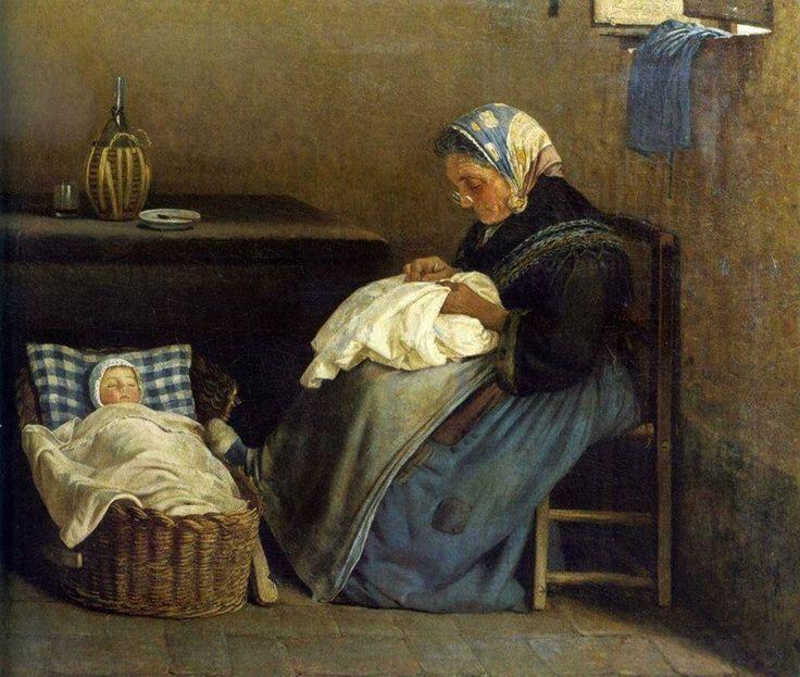 La nonna 1865 Silvestro Lega