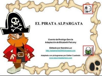 El Capitán Alpargata. Un cuento pirata.: Cuento Pirata, Tema Piratas