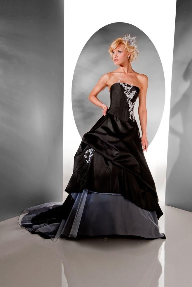 robe de mari e noire robe mari e pinterest robes and mariage. Black Bedroom Furniture Sets. Home Design Ideas