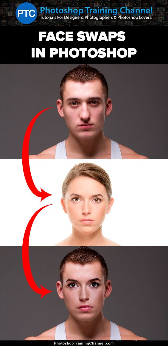 Video tutorial showing you how to Swap faces In #Photoshop.  After watching this… #Tutorial @English4Matura