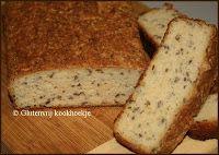 Witbrood met lijnzaad | Het Glutenvrije Kookhoekje
