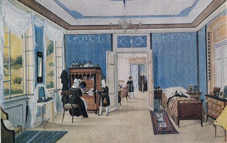 Виллевальде. Комната в барском доме. 1833
