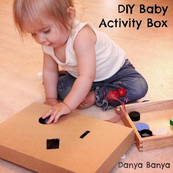 DIY Baby Activity Box ~ Danya Banya